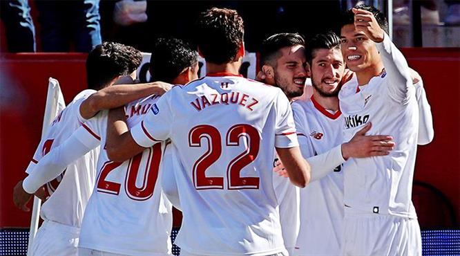 Sevilla yara sardı